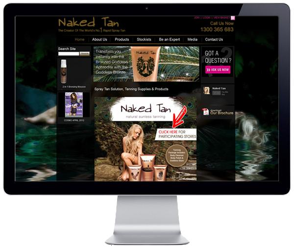 Naked Tan Website