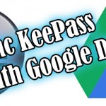 How to sync your Keepass database on Google Drive for multiple users