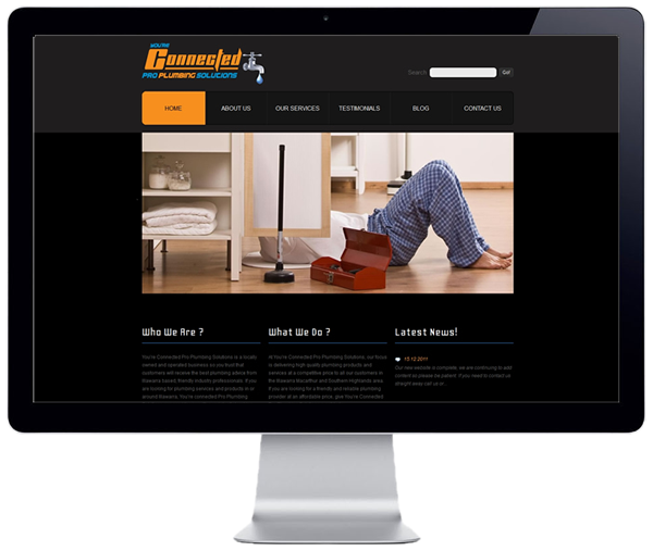 Connected Pro Plumbing Website