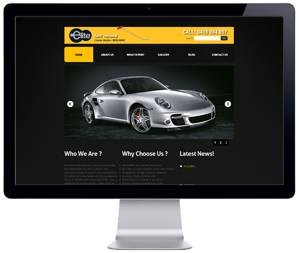 Elite Dent Removal Website