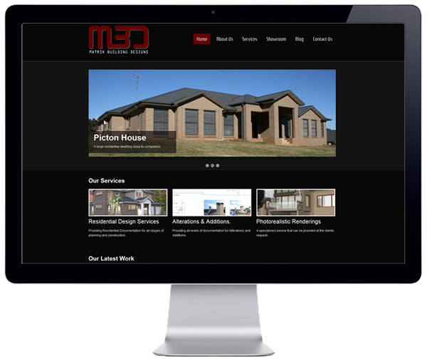 Matrix Building Designs Website