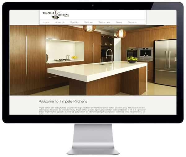 Timpelle Kitchens Website