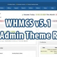 WHMCS Blend Admin Theme Rebirth Free Download