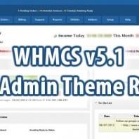 WHMCS Blend Admin Theme Rebirth Free Download